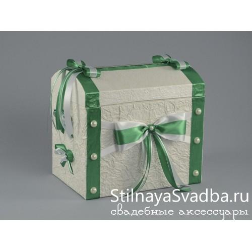 Набор свадебных аксессуаров Изумруд . Фото 000.