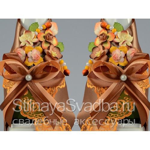 Аксессуары для осенней свадьбы, Краски осени . Фото 000.
