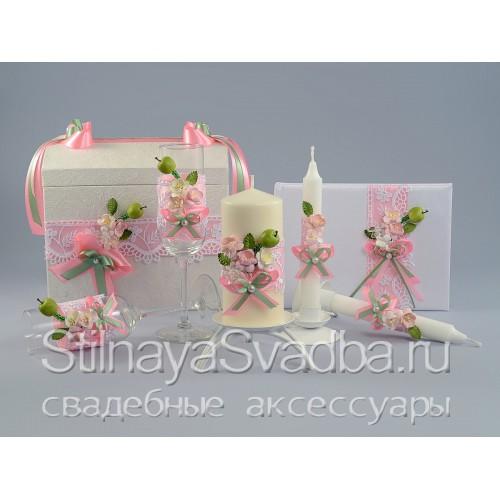 Коллекция свадебных аксессуаров Яблоневый сад фото