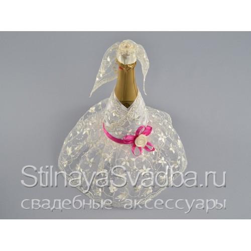 Набор свадебных аксессуаров Фуксия . Фото 000.
