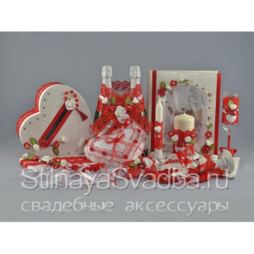 Коллекция аксессуаров Romantic heart  фото