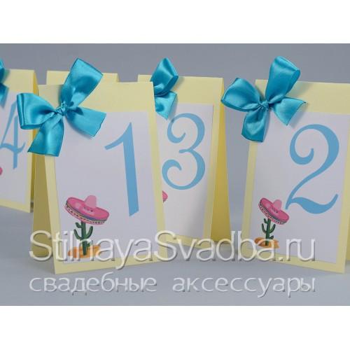 Карточки для столиков в любом стиле и цвете  фото