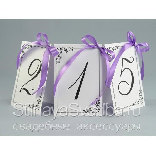 Номер для столика в изящной рамке  фото