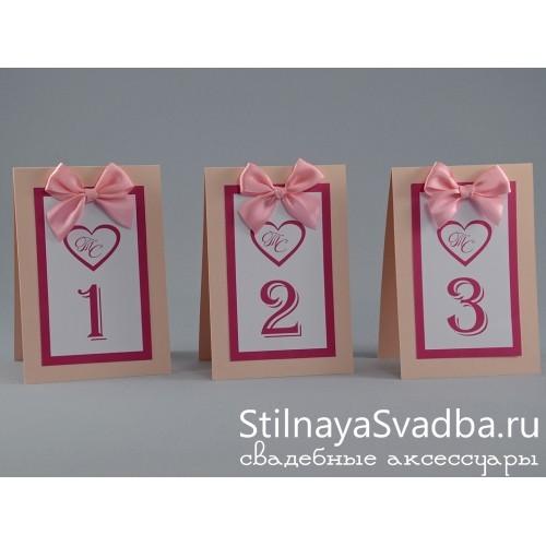 """Номер для столика """"Pink""""  фото"""