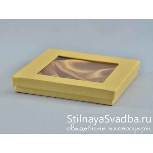 Миниатюрная коробочка с окошком . Фото 000.