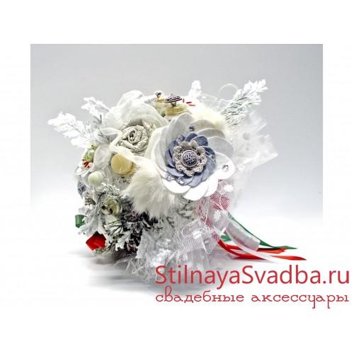 Зимний букет в итальянском стиле фото