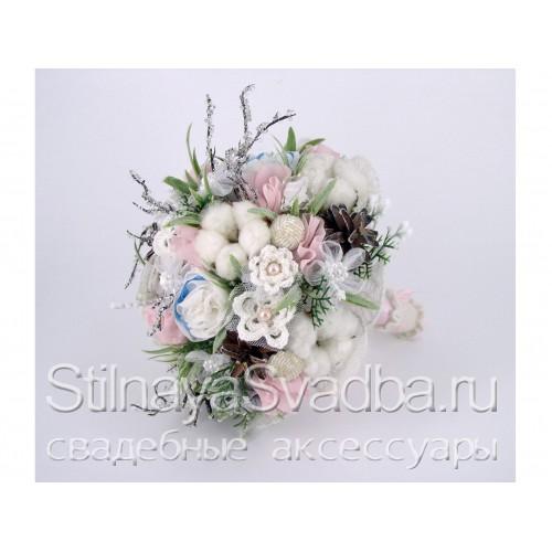 Букет зимний свадебный Зимняя сказка фото