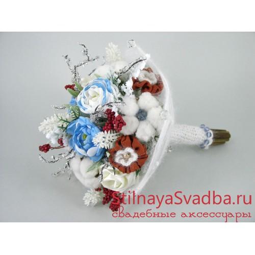 Фото. Букет зимний свадебный Февраль