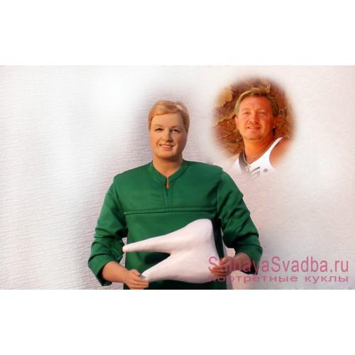 Портретная кукла в подарок стоматологу фото