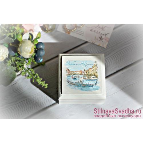 Свадебная шкатулочка  Венеция фото